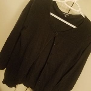 **2for$15**George L/S black cardigan